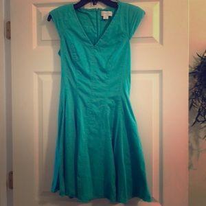 Jessica simpson green/blue dress